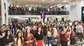 Adolescentes da UNIAADJO estão envolvidos com Missões Siloé