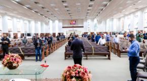 Consagração de obreiros: Momentos de refrigério espiritual