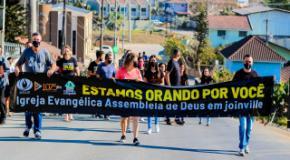 Boas Novas: Ações Evangelísticas ganham as ruas das Regiões Leste e Sudeste de Joinville