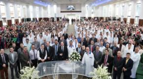 IEADJO realiza o 4º batismo do ano com 208 novos membros