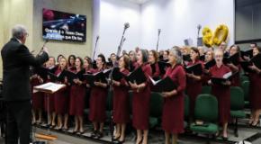 IEADJO celebra os 80 anos do Coral Harmonia Santa e 30 anos da Orquestra Filarmônica
