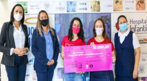 UFADVILLE realiza entrega de arrecadação para Hospital Infantil