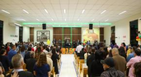 Sétimo culto do ano da Rádio 107 foi realizado na IEADJO Nova Esperança