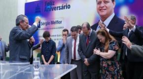 Culto de Ações de Graça pelo 54º aniversário do Pr. Sérgio Melfior