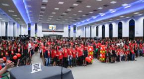 Família é destaque no Congresso Infantil da IEADJO