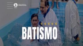 Batismo: IEADJO realiza evento em dezembro