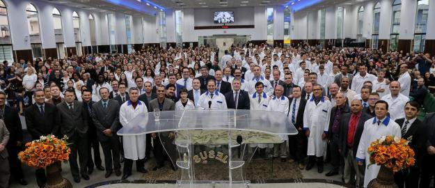 238 Novos Membros descem às Águas em Penúltimo Batismo de 2019 na IEADJO