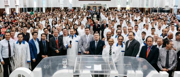 CRESCIMENTO: IEADJO batiza 264 novos membros em último Batismo de 2019