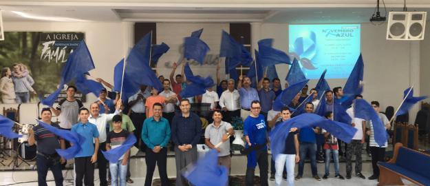 Carreata Evangelística Marca as Comemorações do Novembro Azul no Setor 41
