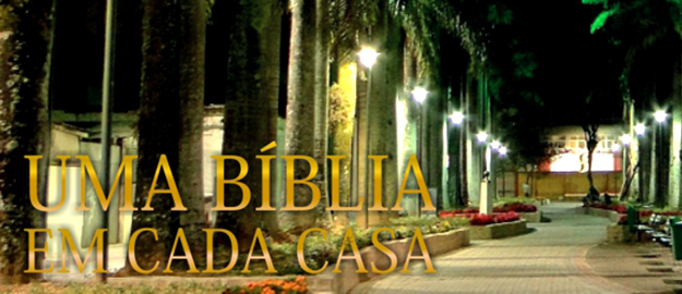 """AD Joinville lança o projeto """"Uma Bíblia em Cada Casa"""" nos seus 80 anos"""