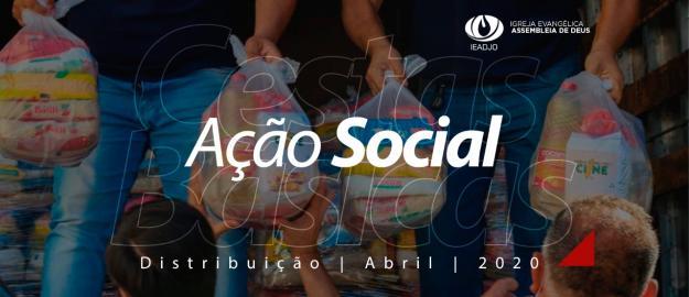 Social: IEADJO distribui quase 30 toneladas de alimentos em abril