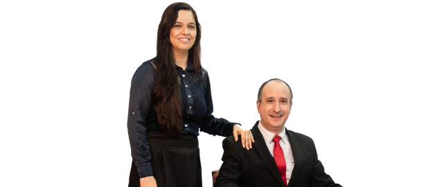 Aloisio Lucas e Andréa Lucas