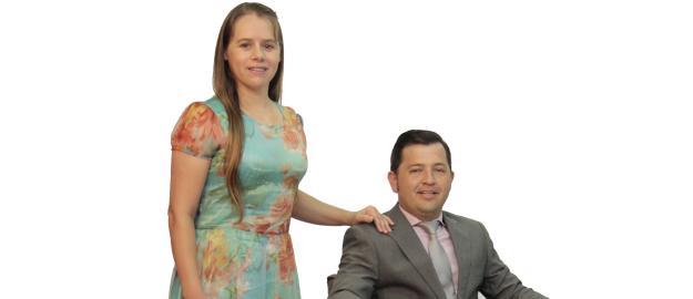 Alessandro José Martins e Raquel Goularte Martins